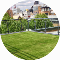 synthetic grass for balcony terrace